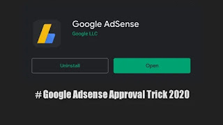 Adsence approval tricks 2020