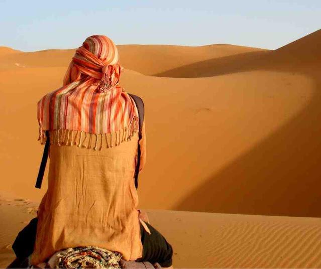 قصيدة إلى الصحراء
