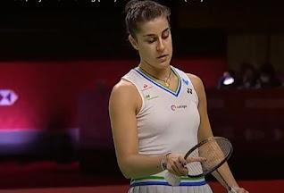 Carolina Marin Copa de Maestros badminton