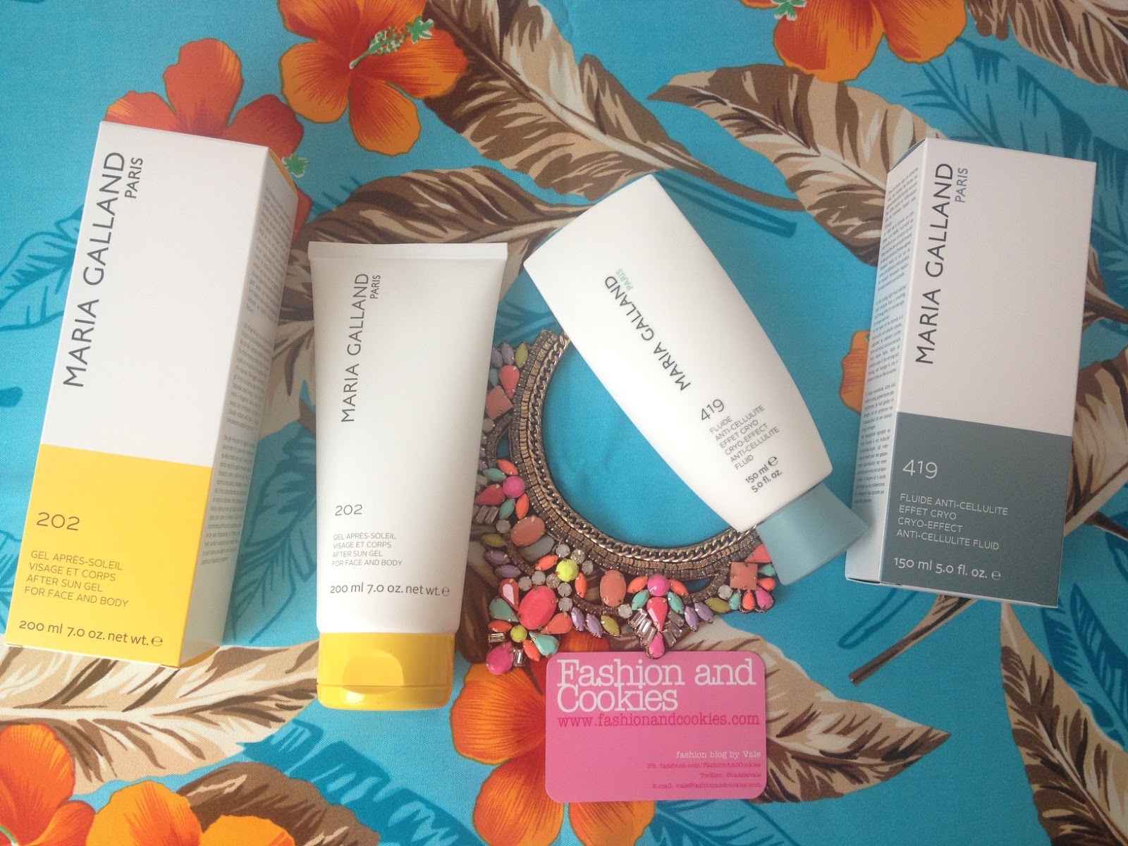 Maria Galland Paris Beauty Products Review
