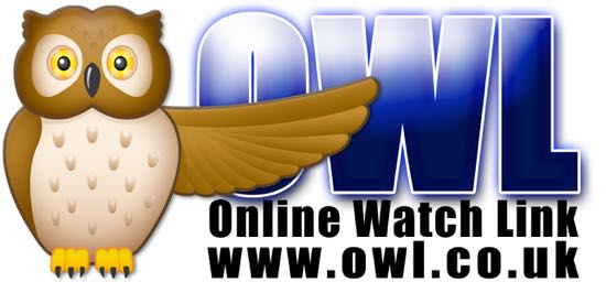 Screen grab of Herts Police OWL (Online Watch Link) logo