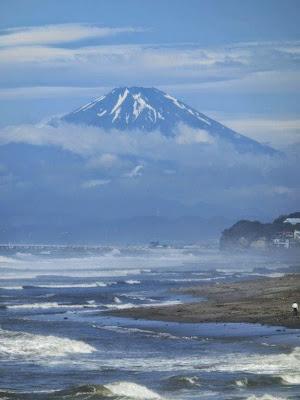 稲村ヶ崎からの富士