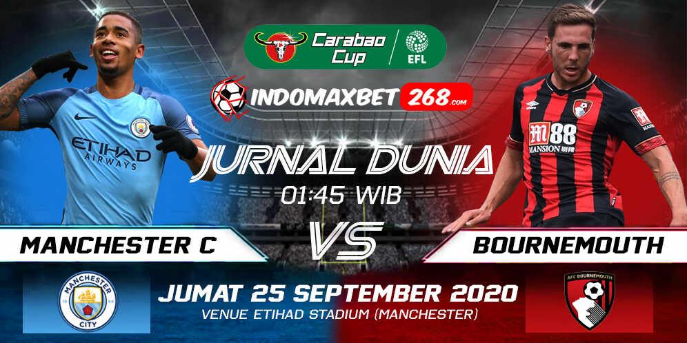 Prediksi Manchester City vs Bournemouth 25 September 2020 Pukul 01:45 WIB
