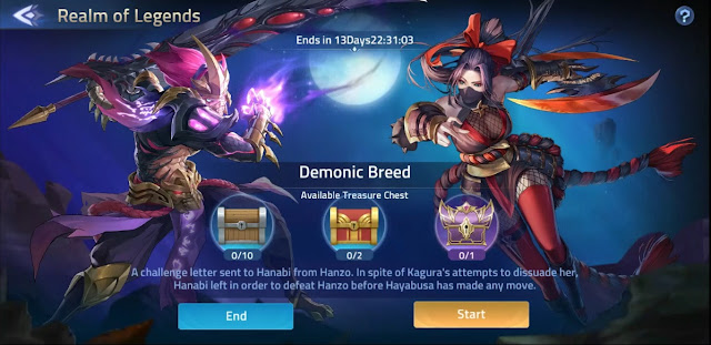 Guide How To Play Realm of Legends  Demonic Breed