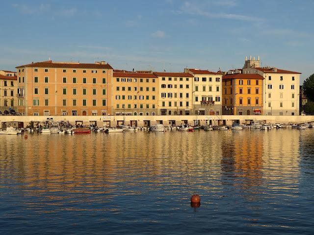 Scali Novi Lena al tramonto, Livorno