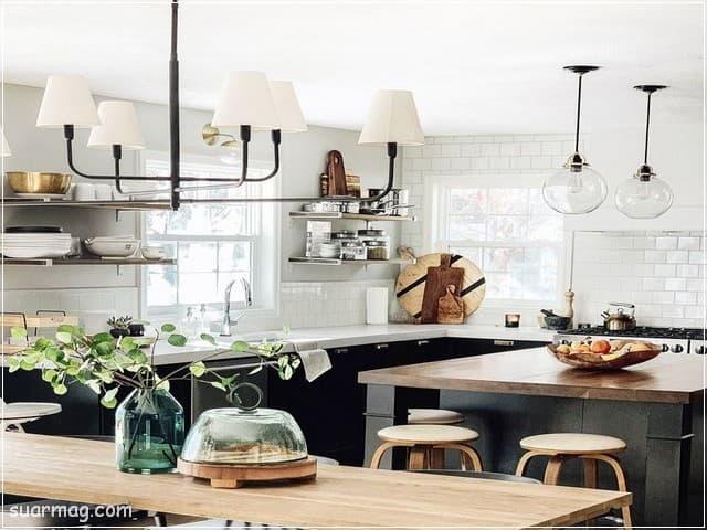 مطابخ مودرن خشب 7   Modern Wood kitchens 7