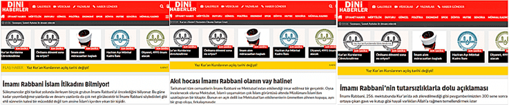 dinihaberle com imami rabbani hakaret