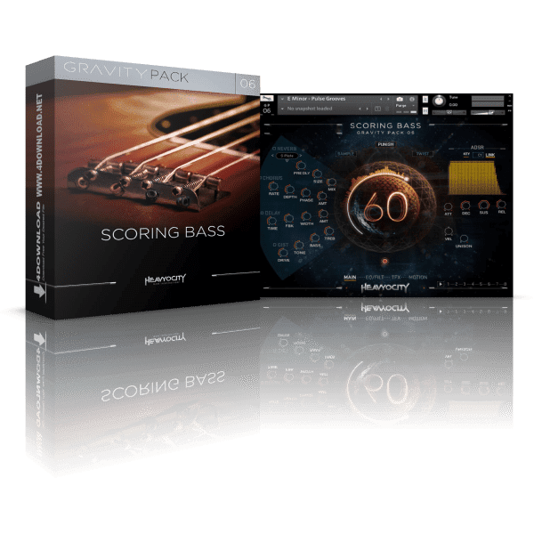 Heavyocity GP06 Scoring Bass KONTAKT Library