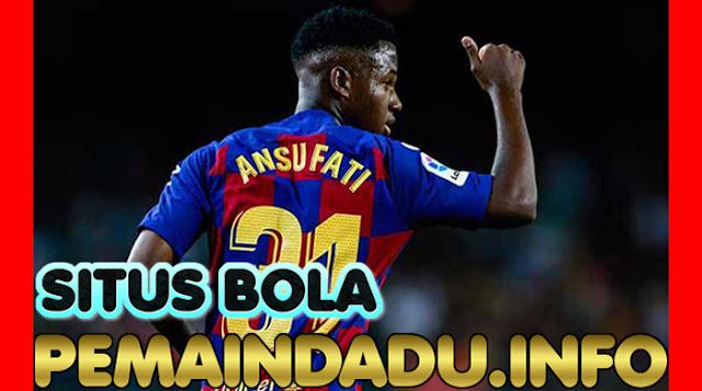 Klub Barcelona Tolak Tawaran Rp 1,5 Triliun Untuk Ansu Fati