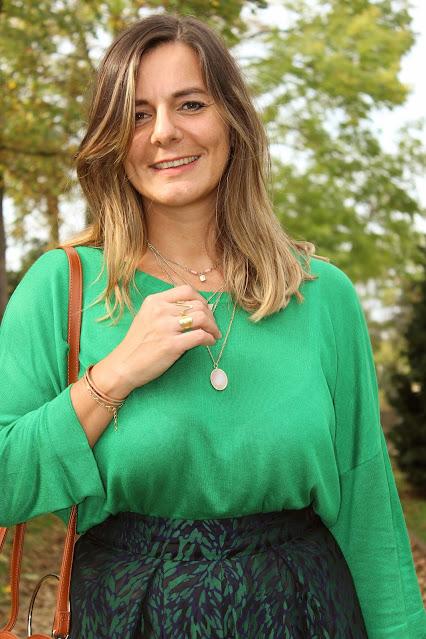 look d'Automne, inspiration mode, absolut cashmere, jupe tara jarmon, les petites bulles de ma vie