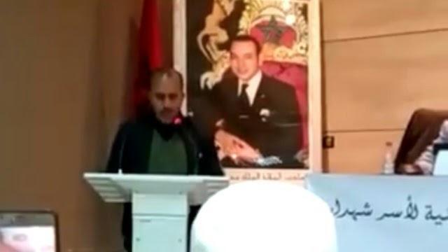 مداخلة وقصيدة السيد قبلي محمد يوم عيد الشهيد ،8 نونبر2019