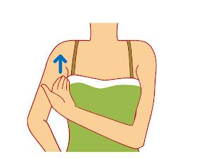 腋下淋巴按摩,幫身體排廢物消除肩頸痛