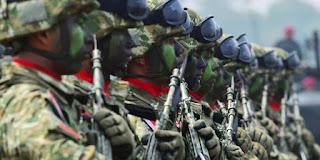 Kisah lucu prajurit TNI gugup ditanya Panglima soal cium pacar