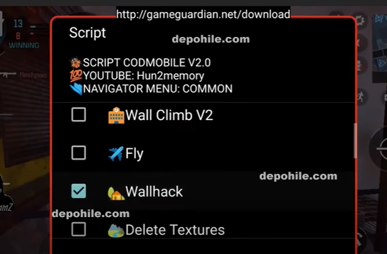 Call of Duty Mobile Script Wallhack, Fly VIP Hileler Haziran 2020
