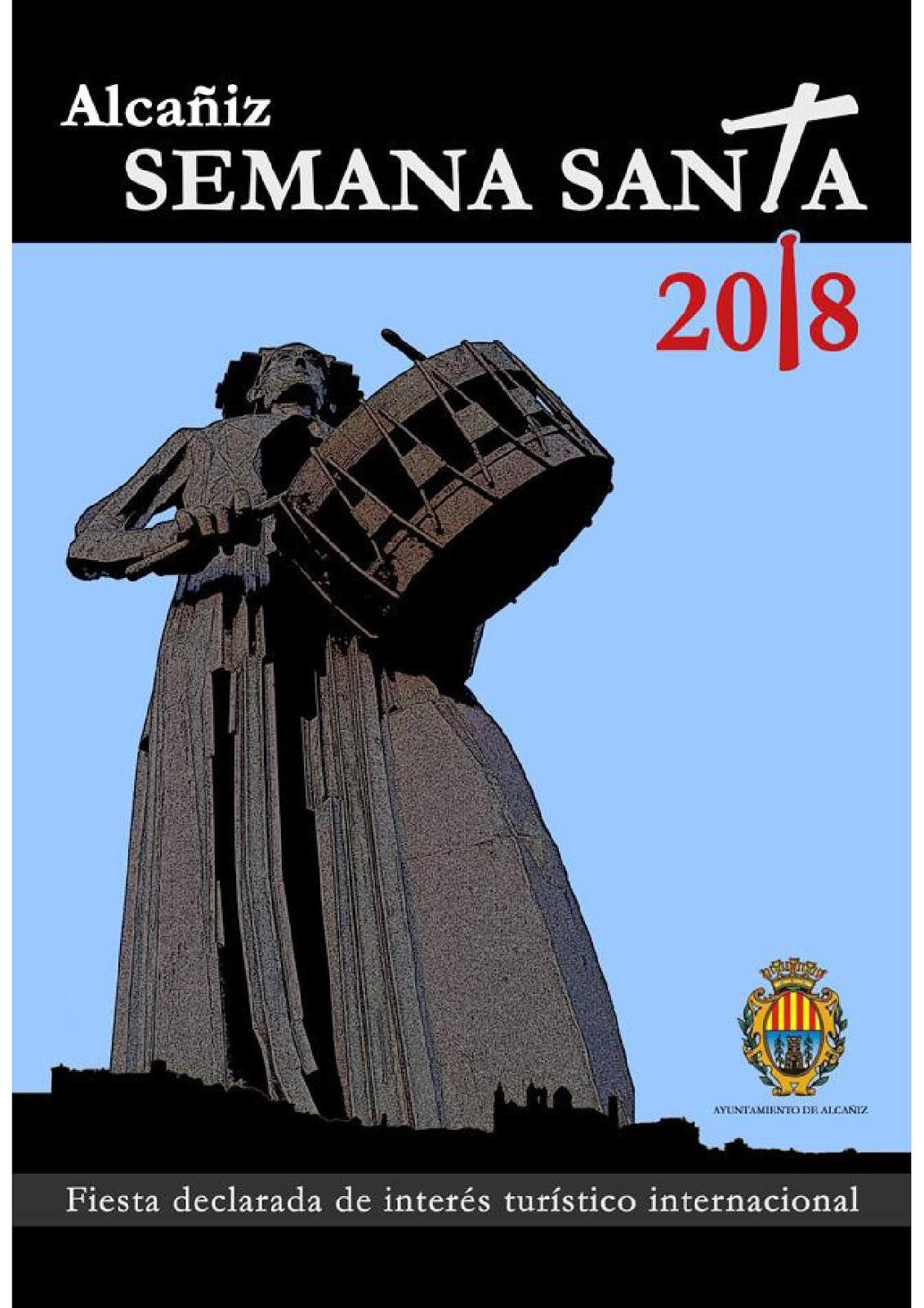 Programa de Semana Santa 2018 en Teruel (Ciudad)