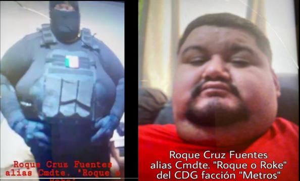 """El Famoso """"Comándate Roque"""" de Los Metros es levantado junto con sus hijos y esposa por miembros del Cártel del Golfo"""