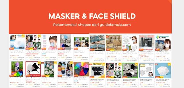 Dapatkan Masker Medis Terbaik dan Non Medis Harga 1000% murah dan standar kesehatan, dengan tipe 3ply, N95, Sensi dll...