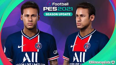 PES 2021 Faces Neymar Jr