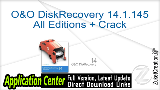 O&O DiskRecovery 14.1.145 All Editions + Crack