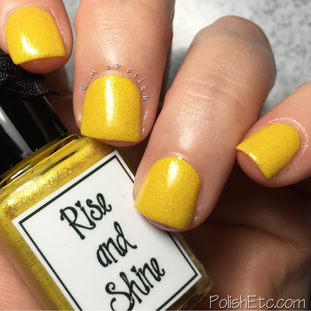 Whimsical Ideas by Pam - Summer 2017 - McPolish - Rise and Shine