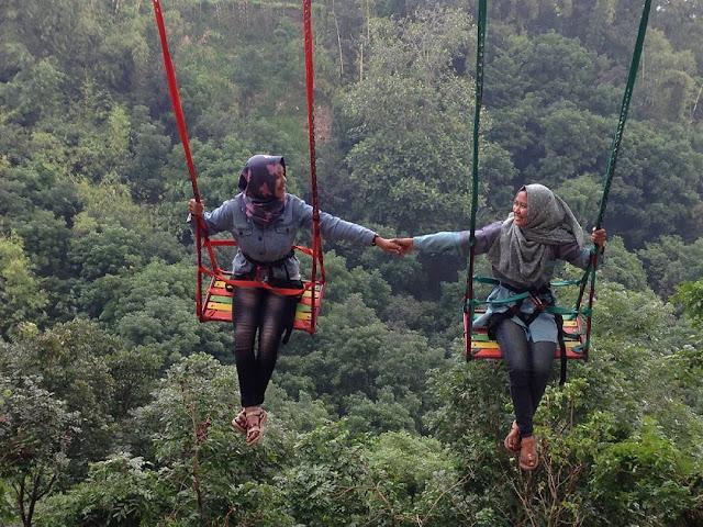 Wahana Claket Adventure Park Mojokerto