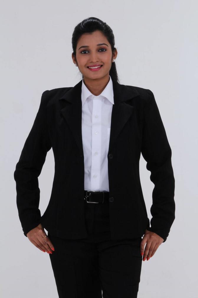 Beautiful Telugu Girl Deepthi Shetty Stills In White Shirt Jeans