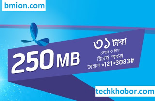 Grameenphone-Gp-250MB-3Days-31Tk-Dial-121-3083-or-Recharge-31Tk