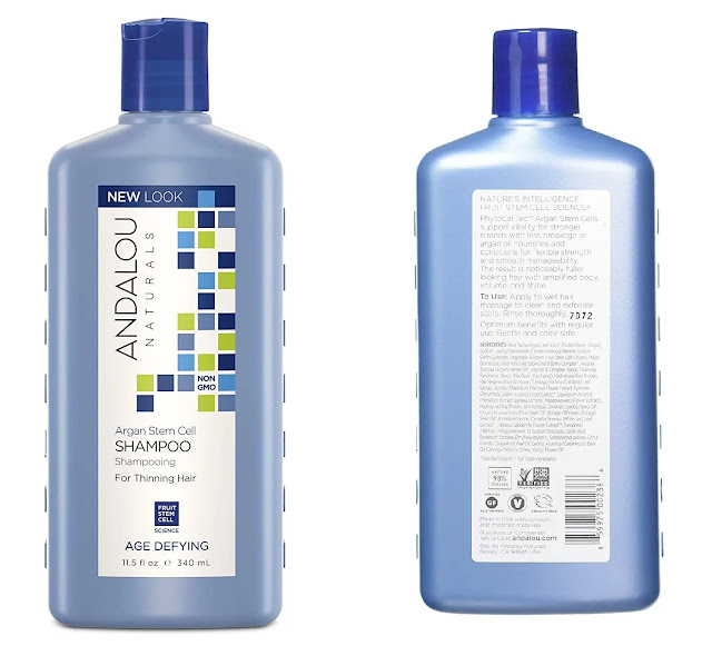 6. Argan Stem Cell Age Defying Shampoo
