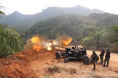 Uji Tingkat Akurasi Menembak, Prajurit Yon Arhanud 13/Pby Gelar Latbakjatrat