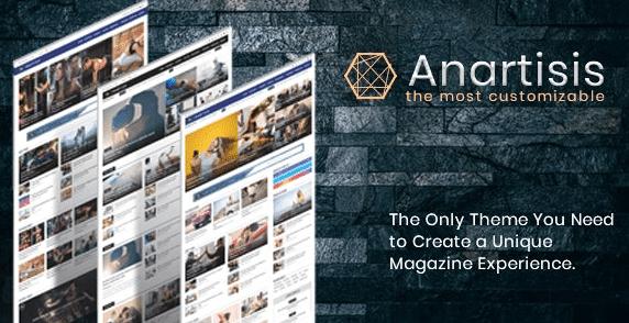 Download Gratis Anartisis v1.7.5 – News & Magazine Blogger Theme