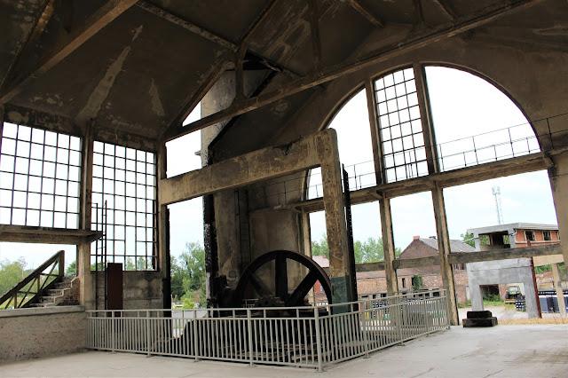 salle des machines mine à charbon
