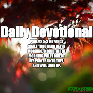 Today's Devotion  Fri  [THE POWER OF BROKENNESS]