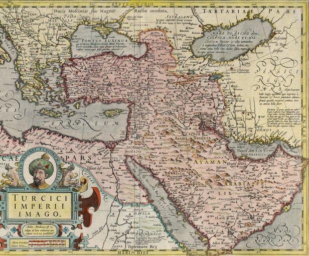 الخرائط التركيه العثمانيه