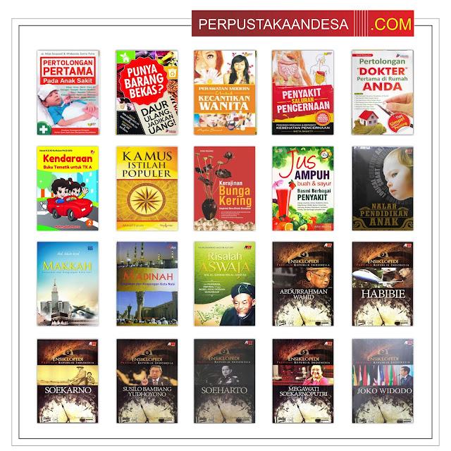 Contoh RAB Pengadaan Buku Desa Kabupaten Pohuwato Provinsi Gorontalo Paket 100 Juta