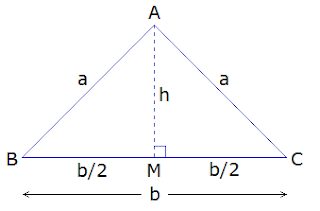 isosceles triangle ABC