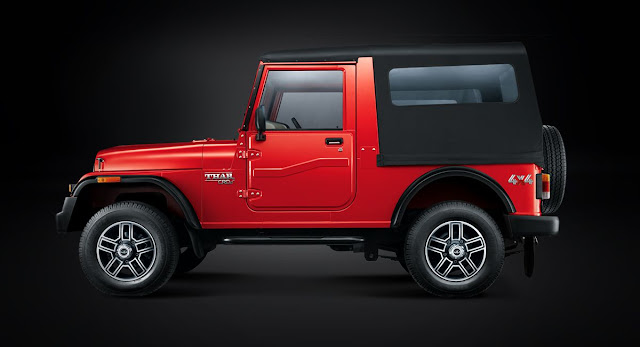 Mahindra Thar cool vehicle