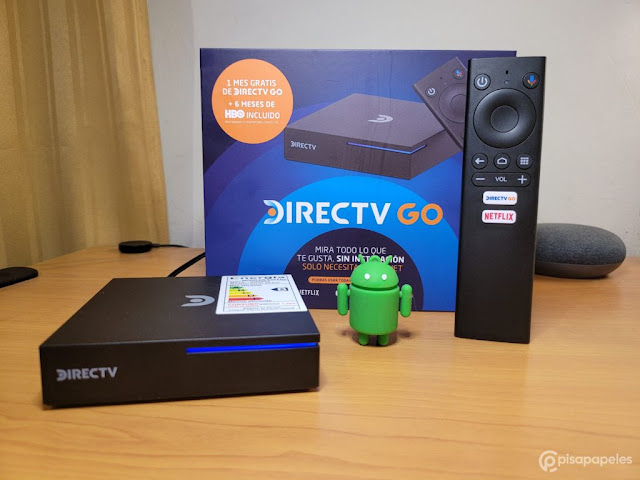 Presentación del DIRECTV GO BOX (Créditos de la Imagen: Pisapapeles.net)