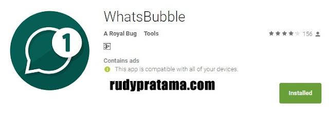 Membuat Notifikasi BubbleChat WhatsApp