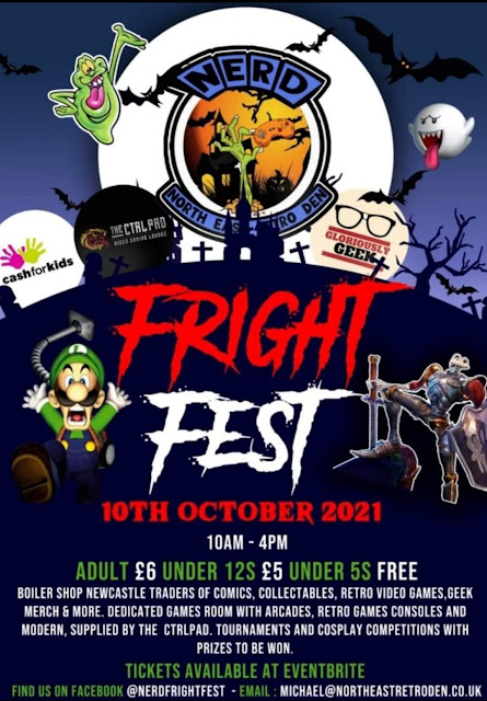 North East Halloween Events 2021  - Fright Fest