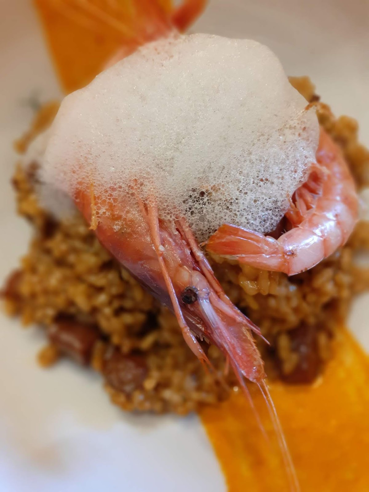 Rice with Blanes shrimps - Can Marc restaurant - Palautordera