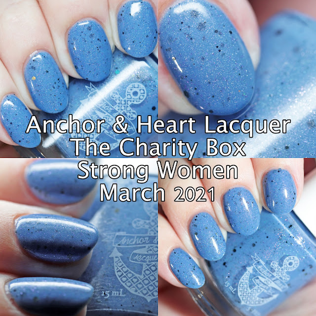 Anchor & Heart Lacquer The Charity Box Strong Women March 2021