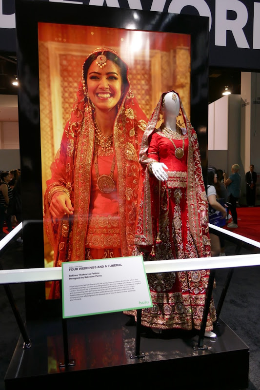 Hulu Four Weddings and Funeral Indian bride costume