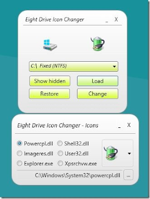 Tips Mengubah Icon Drive Pada Windows 8 ~ '