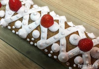 recette de bûches pâtissières, biscuit roulé, biscuit roulé aux noix de pécan, bûches de Noël, pâtisserie, fêtes, patissi-patatta