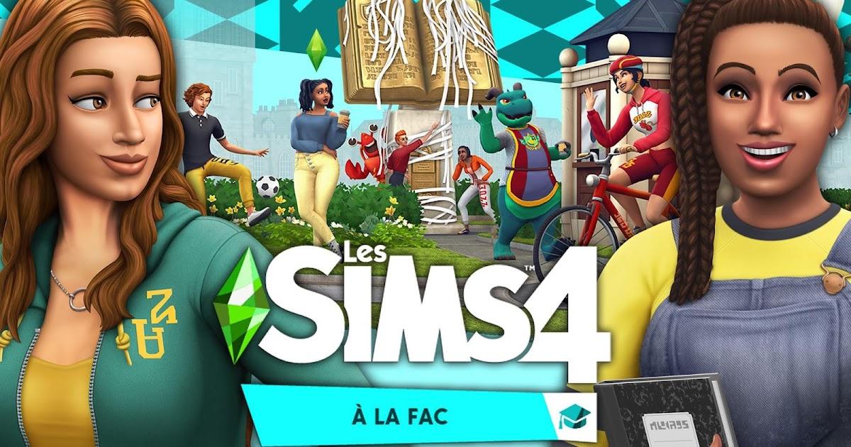L'envol des jeux: Les sims 4: À la fac - S'inscrire à l ...