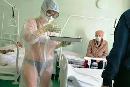 Perawat COVID19 Pakaian Transparan