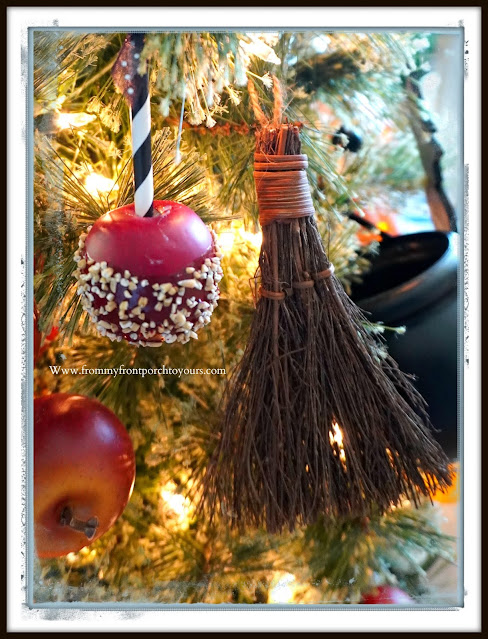 Fun Vintage Halloween Festive Christmas Tree-Ornaments-From My Front Porch To Yours