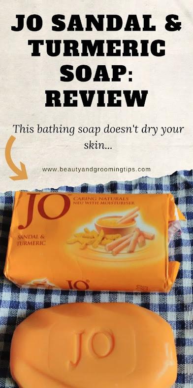 Jo sandal and turmeric soap review