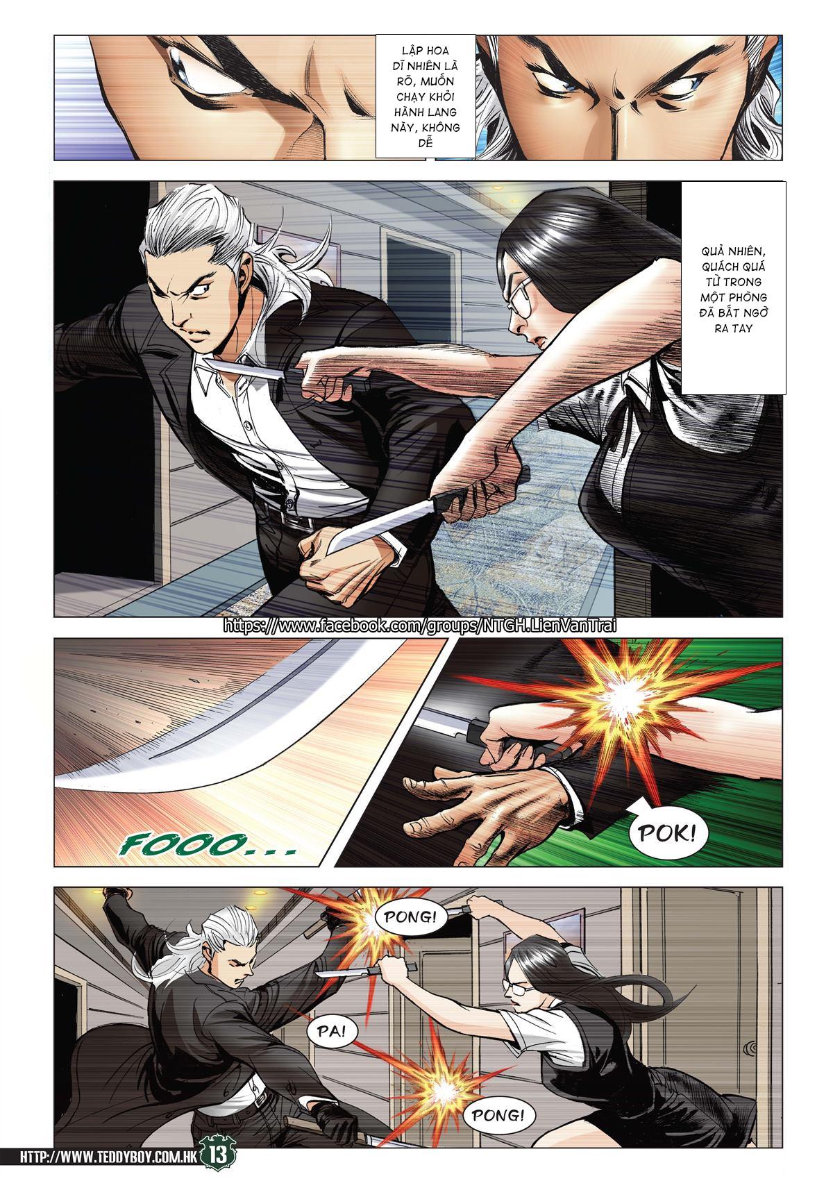 Người Trong Giang Hồ RAW chap 2070 - Trang 12