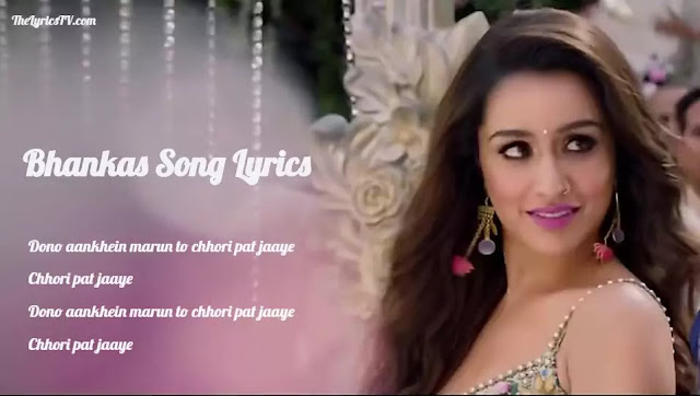 Bhankas Hindi Song Lyrics - Baaghi 3 - Bappi L - Dev N - Jonita G